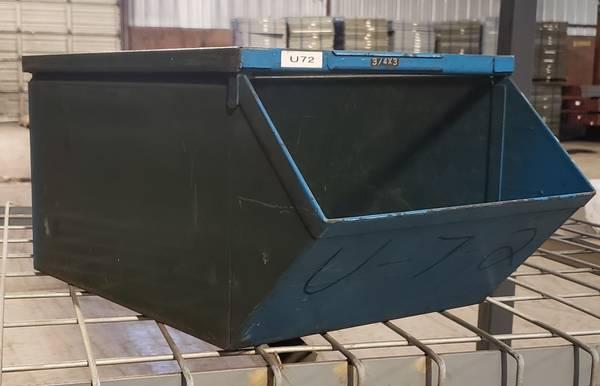 Heavy Duty Stackable Steel Storage Bins Texas Iron And Metal