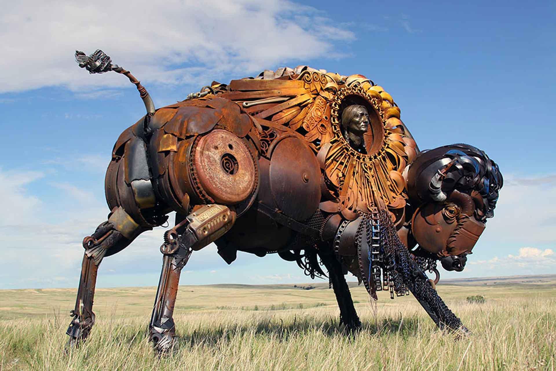 Scarp Metal Buffallo